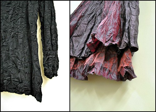 pleated garments
