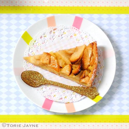 Gluten Free Apple Frangipane Tart