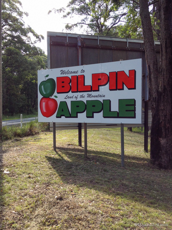An apple a day - Bilpin NSW