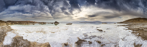 blue sea sky panorama brown sun nature clouds sunrise canon landscape dead israel sand angle cloudy pano wide salt middleeast large bluesky panoramic deadsea 1740mm 1740 6d canon6d