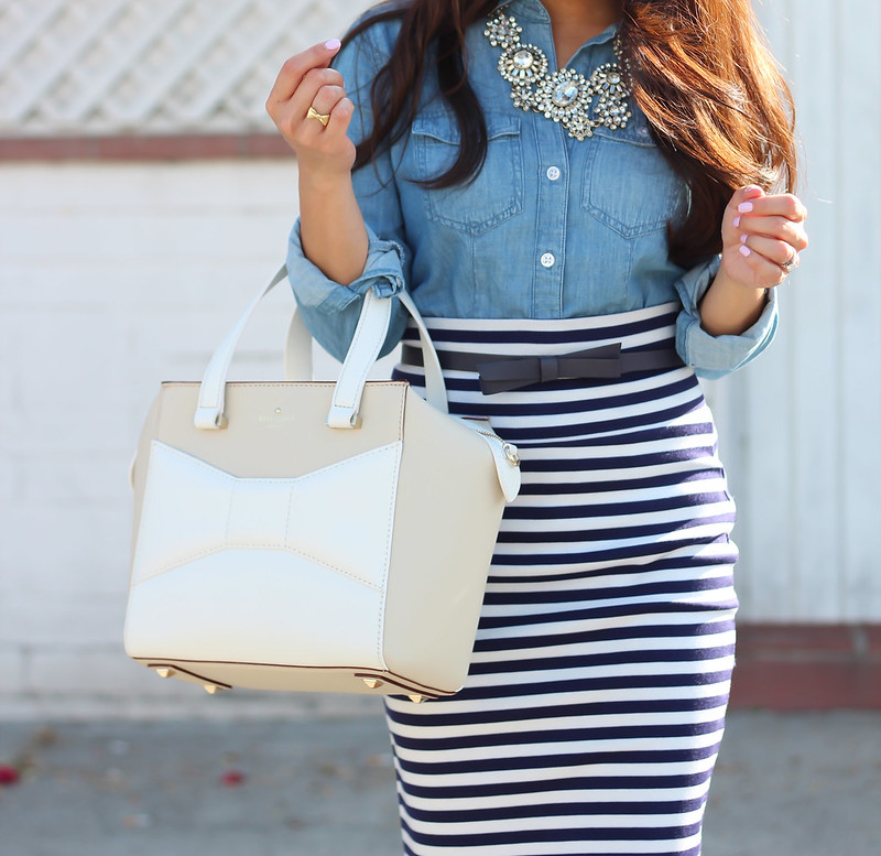 Chambray and Stripes-3