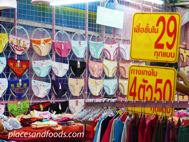 hatyai asean night market undergarments