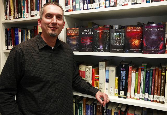 James Dashner & his books