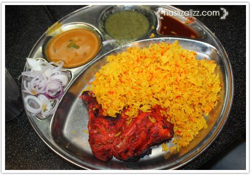 14139045843 1b472582d4 o restoran kapitan penang | roti naan cheese dan nasi briani ayam tandoori  yang sedap