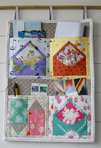 Mailing Station - adapted (made smaller) from a pattern by Ayumi Mills