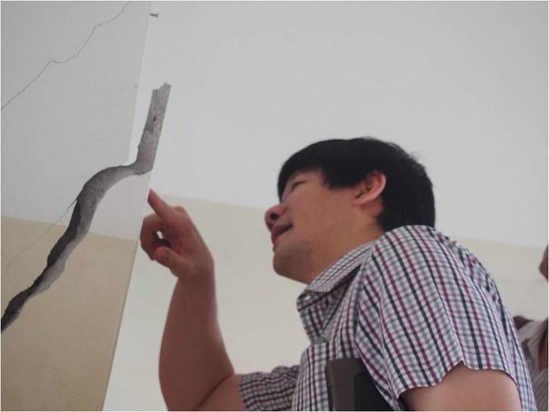 รายงานผลกระทบแผ่นดินไหว ที่โรงเรียนศิริมาตย์เทวี อ.พาน จ.เชียงราย