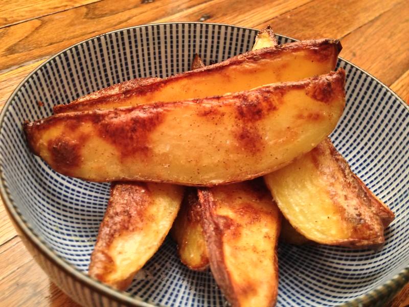 Spicy Smokey Potato Wedges