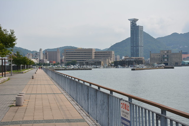 門司港周辺の散歩道