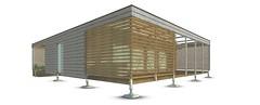 Stevens Solar Decathlon 2015 House Rendering: Extra 4