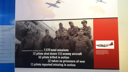 The Tuskegee Airmen's combat record