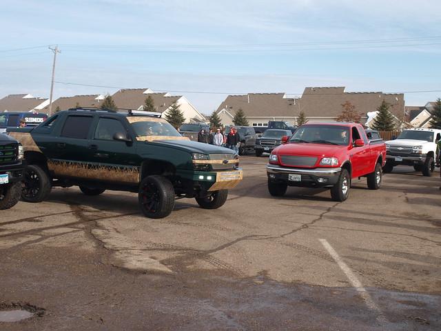 Lifted Trucks Minnesota January Meet 046