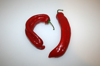 09 - Zutat Spitzpaprika / Ingredient pointed pepper