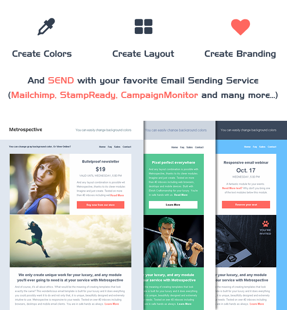 Email Template Builder - Modern Responsive Email