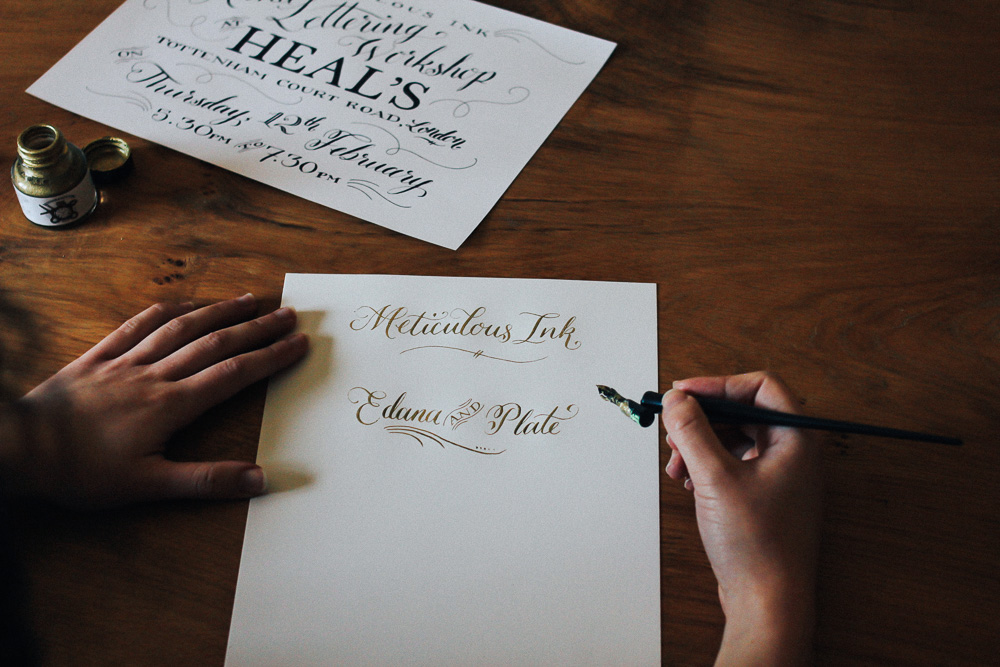 Meticulous Ink - A Beautiful Stationary, Calligraphy, Printing Studio in Bath
