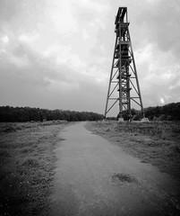 Industrial remnant - northern France noir