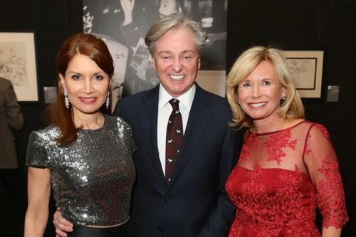 Jean Shafiroff, Geoffrey Bradfield, Sharon Bush==.Dali: The Golden Years==.The National Arts Club, NYC==.February 04, 2015==.©Patrick McMullan==.photo - J Grassi/PatrickMcMullan.com==.==