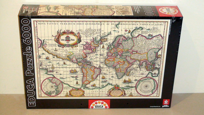 6.000 - Educa - Ancient Map of the World