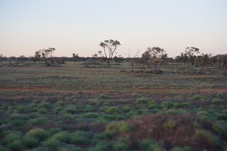 View from the bus to Broken Hill