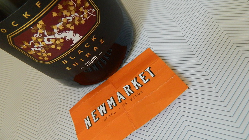 Rockford Sparkling Black Shiraz > Disgorged 2014 w/ KIKKI.K Backing... a/ Hotel Newmarket (St.Kilda)