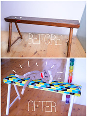 Double stoobefore & after: double stool makeover!l