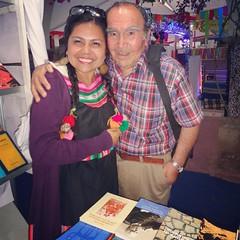 Con una gran persona y escritor del sector de Las Compañias (no perdemos la esperanza de ser comuna jijiii) Don Daniel Toro Ponce :blush::blush:☺☺