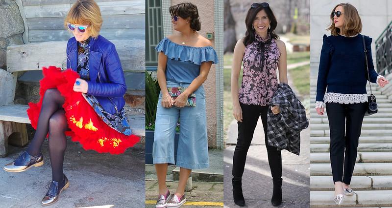 Fashion bloggers in ruffles iwillwearwhatilike