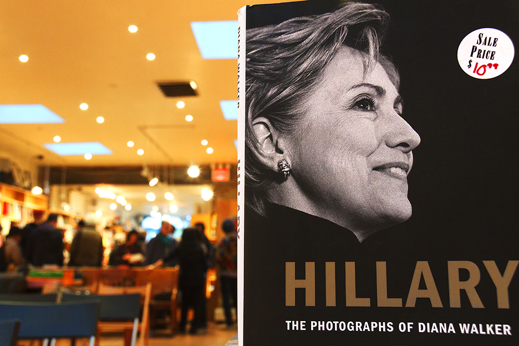Book of Hillary Clinton photos--Boerum Hill