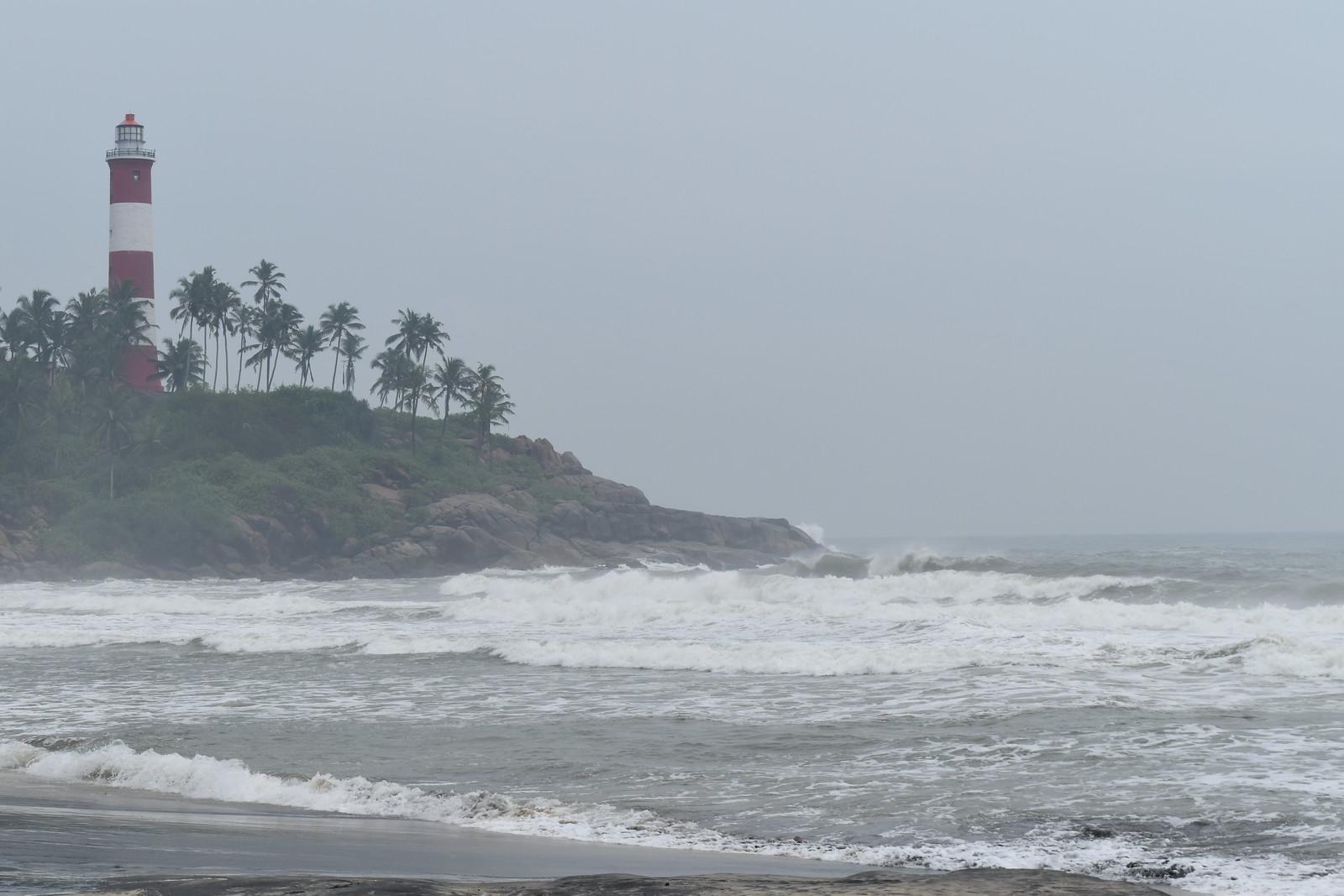 Lighthouse Beach--Kovalam