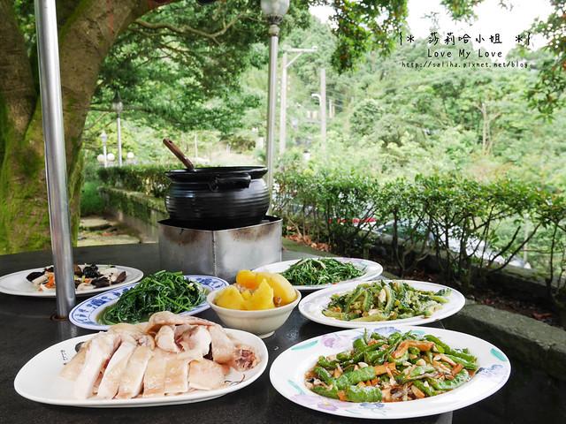 陽明山竹子湖餐廳美食杉木林 (28)