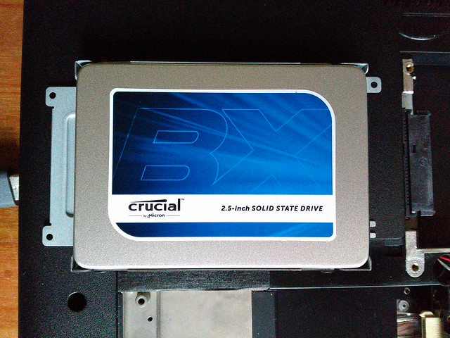 Crucial BX200, 240 GB SSD