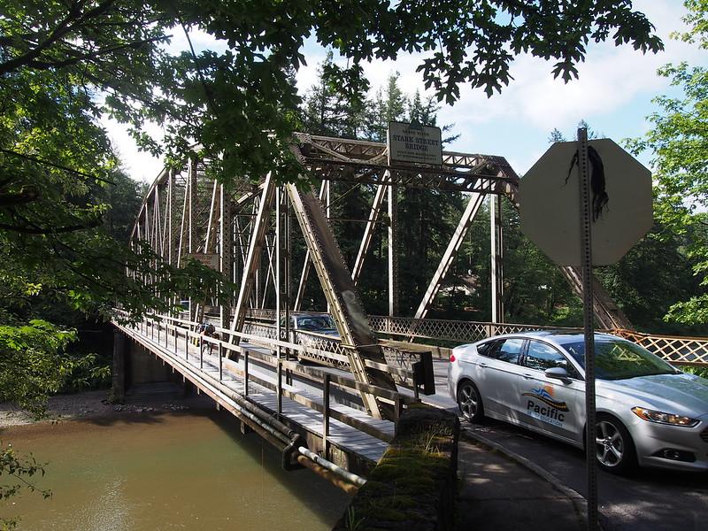 Start Street Bridge: Over the Sandy River