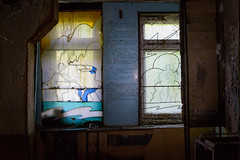 40. Duga - Stained glass in the training room