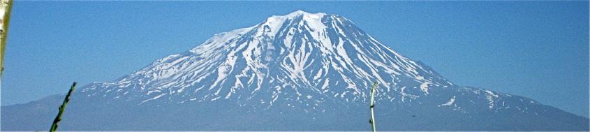 Biblischer Berg Ararat, 5165 m. Foto: Uli Aldebert.