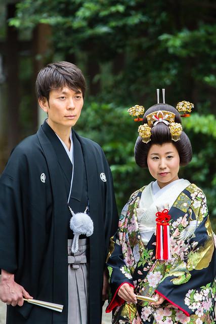 Tokyo - Shibuya - Meiji-jingū - Mariage shinto