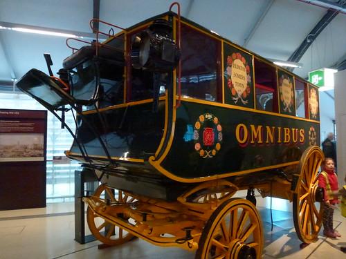 Omnibus horse drawn carriage