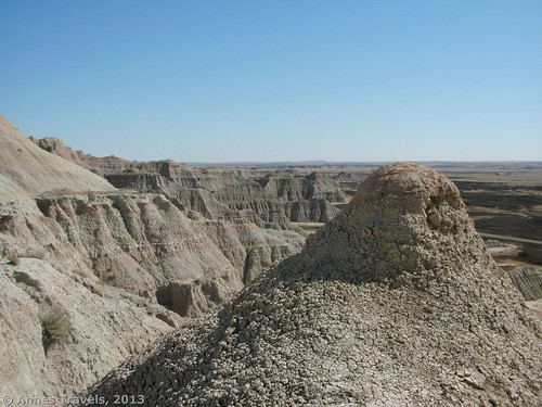 A view near the west end of the Castle Trail, Badlands National Park, South Dakota