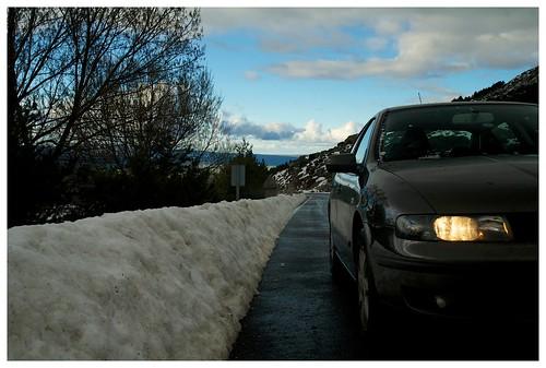 Nieve primaveral en la Sierra de Gredos