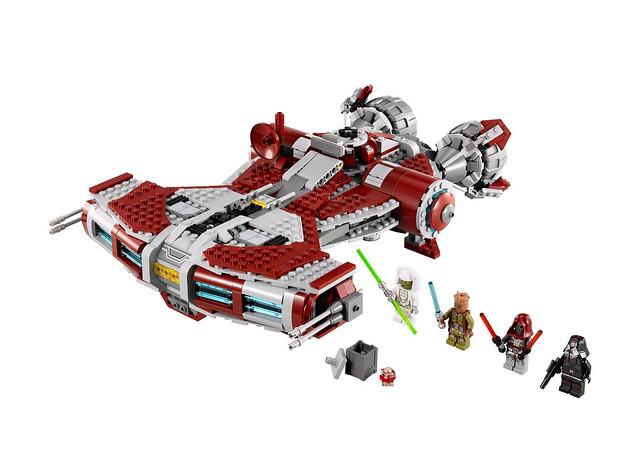 LEGO Star Wars 75025 - Jedi Defender-Class Cruiser