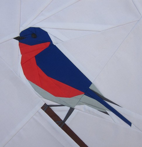 Paper Pieced Bluebird