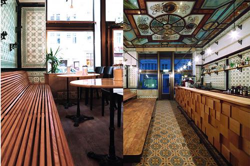 Diseo de interiores de carnicera a bar espacios vives - Diseno de interiores para bares ...