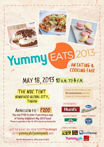 A3 Yummy Eats 2013 DTI