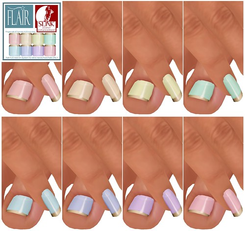 Flair - Nails Set 67