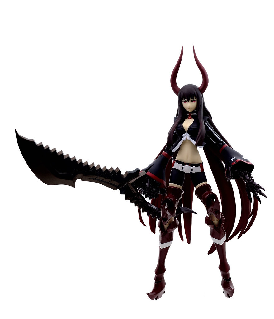 [Black Rock Shooter] Black Gold Saw