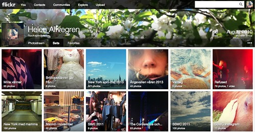 Nya Flickr
