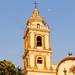 Campanario de la Parroquia de Santiago Apóstol en Chignahuapan, Puebla - México por hyarrona