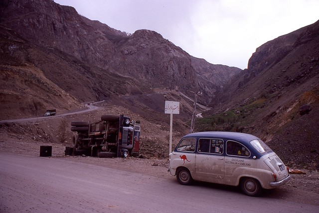 Elburz Mountains, Iran, 1969