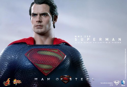 MMS200 - Man of Steel: 1/6th scale Superman Collectible Figure