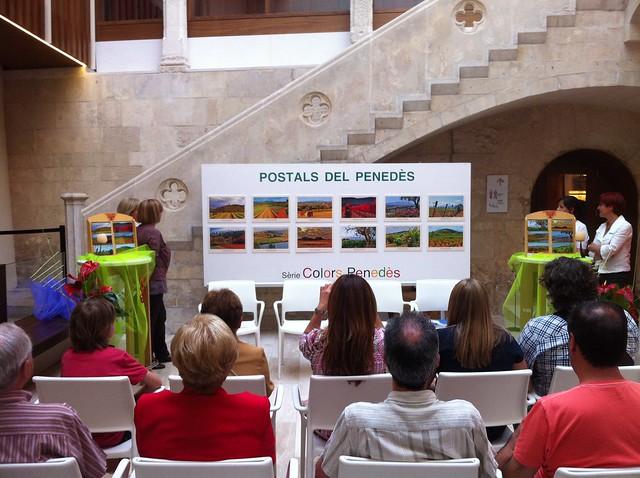 A la presentació de les 'Postals del Penedès' #Enoturisme #Penedès #fotografia #paisatge