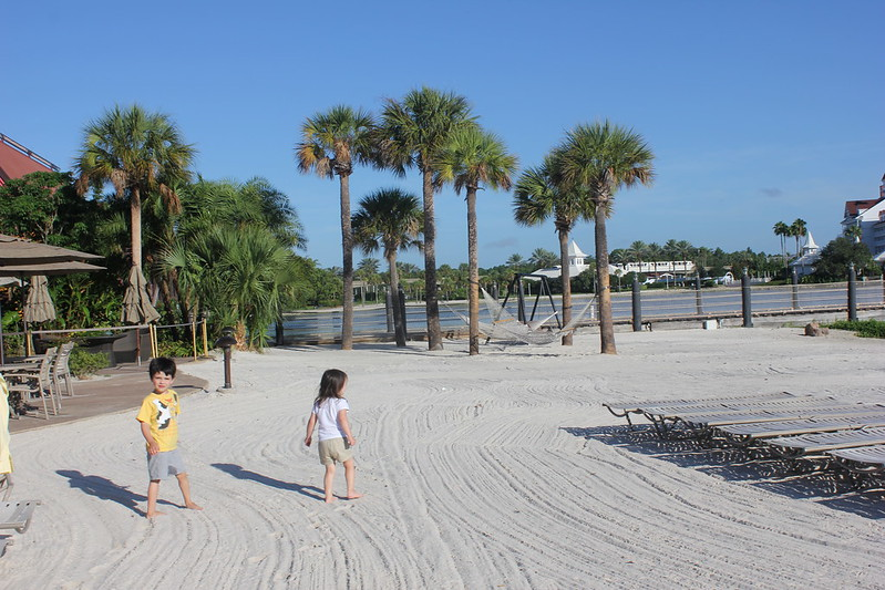 Beach at Disney's Polynesian Resort