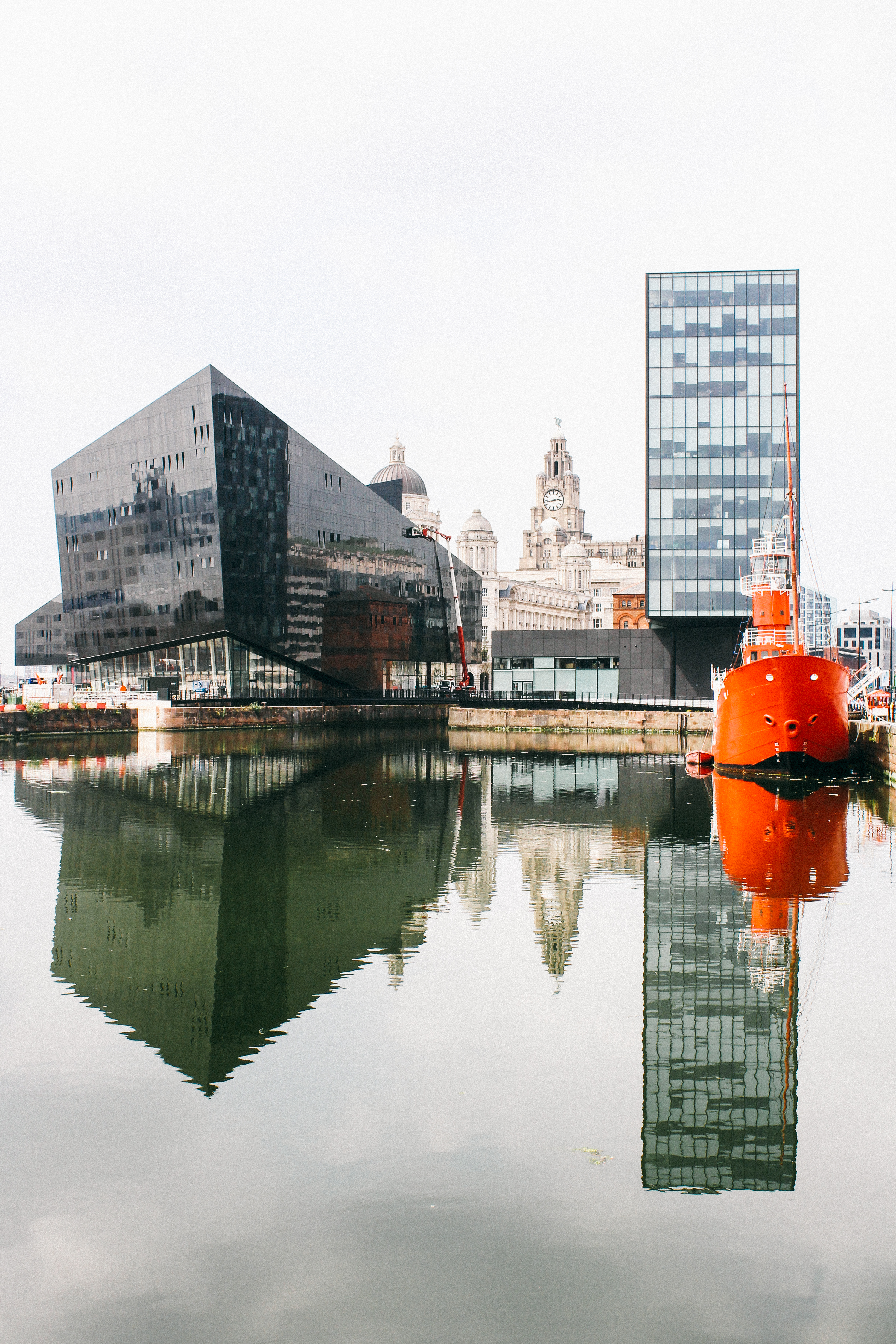 View from the Albert Dock